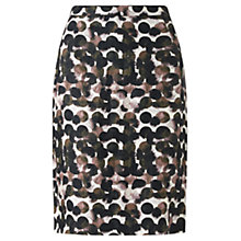 Buy Jigsaw Waterpool Spot Pencil Skirt, Multi Online at johnlewis.com