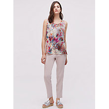 Buy Jigsaw x ALR Rainburst Silk Vest, Multi Online at johnlewis.com