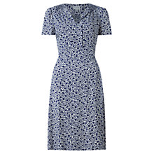 Buy Jigsaw Ikat Floral Tea Dress, Multi Online at johnlewis.com
