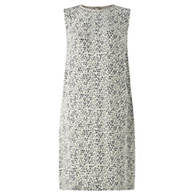 Buy Jigsaw Micro Pleat Detail Dress, Pale Green Online at johnlewis.com