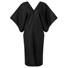Buy Jigsaw Linen Kaftan, Black Online at johnlewis.com