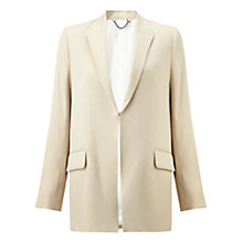 Buy Jigsaw Artisan Jacket, French Clay Online at johnlewis.com