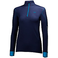 Buy Helly Hansen Active Flow 1/2 Zip Women's Base Layer Top, Navy Online at johnlewis.com