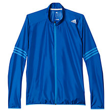 Buy Adidas Response Wind Jacket, Navy/Blue Online at johnlewis.com