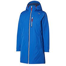 Buy Helly Hansen Long Belfast Waterproof Insulated Women's Jacket, Blue Online at johnlewis.com