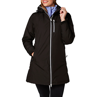 Helly Hansen Long Belfast Waterproof Insulated Women's Jacket, Blue