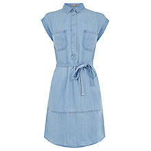Buy Oasis Taylor Denim Shirt Dress, Denim Online at johnlewis.com