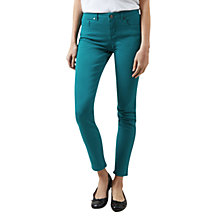 Buy Hobbs Dickenson Jeans, Emerald Online at johnlewis.com