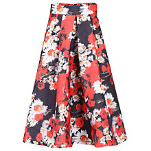 Buy Jolie Moi Floral 3D Skirt, Red Online at johnlewis.com