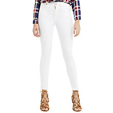 Buy Oasis Lily Skinny Jeans, White Online at johnlewis.com