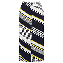 Buy Oasis Memphis Striped Skirt, Multi/Blue Online at johnlewis.com