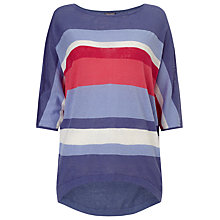 Buy Phase Eight Sarah Striped Knitted Top, Multi Online at johnlewis.com