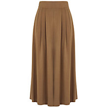 Buy Warehouse Wide Leg Culottes, Tan Online at johnlewis.com