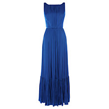 Buy Karen Millen Fluid Maxi Dress, Navy Online at johnlewis.com