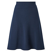 Buy Selected Femme Inca Sweat Skirt, Dark Navy Melange Online at johnlewis.com