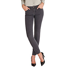 Buy Lee Scarlett Regular Waist Skinny Jeans, Stone Grey Online at johnlewis.com