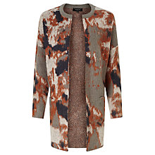 Buy Selected Femme Christel Mohair-Blend Cardigan, Medium Grey Melange Online at johnlewis.com