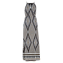 Buy Louche Josie Tribal Print Maxi Dress, Black/Cream Online at johnlewis.com