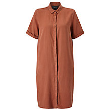Buy Selected Femme Vilo Shirt Dress, Rustic Brown Online at johnlewis.com