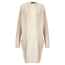 Buy Selected Femme Misa Longline Wool-Blend Cardigan, Rainy Day Online at johnlewis.com