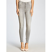 Buy Lee Skyler High Waist Skinny Jeans, Clean Silver Online at johnlewis.com