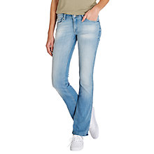 Buy Lee Joliet Slim Bootcut Jeans, Beach Blue Online at johnlewis.com