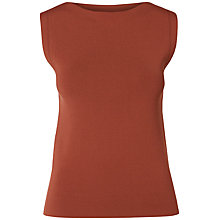 Buy Selected Femme Mirja Knitted Top, Rustic Brown Online at johnlewis.com