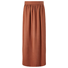 Buy Selected Femme Vilo Maxi Skirt, Rustic Brown Online at johnlewis.com