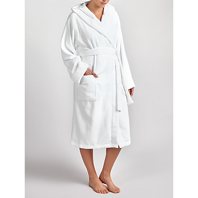 House by John Lewis Rib Weave Bath Robe