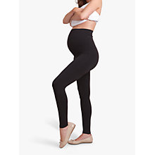Buy Séraphine Holi Maternity Leggings, Black Online at johnlewis.com
