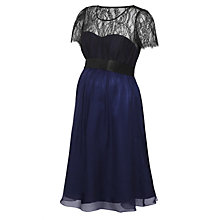 Buy Séraphine Genevieve Maternity Dress, Navy Online at johnlewis.com