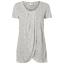 Buy Mamalicious Tacey Iris Maternity Nursing Top, Grey Online at johnlewis.com