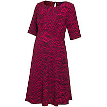 Buy Séraphine Florette Spotted Maternity Dress, Red Online at johnlewis.com