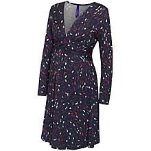 Buy Séraphine Austerly Maternity Nursing Dress, Purple/Multi Online at johnlewis.com
