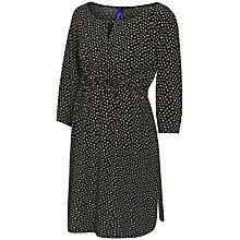 Buy Séraphine Adalya Polka Dot Maternity Nursing Dress, Black/White Online at johnlewis.com