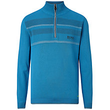Buy BOSS Green Pro Golf Zelchior Zip Jumper Online at johnlewis.com