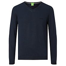 Buy BOSS Green C-Carlton V-Neck Jumper Online at johnlewis.com