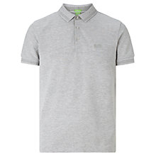 Buy BOSS Green C-Vito Polo Shirt, Light Pastel Grey Online at johnlewis.com