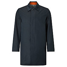 Buy Gant Detacher Overcoat, Navy Online at johnlewis.com