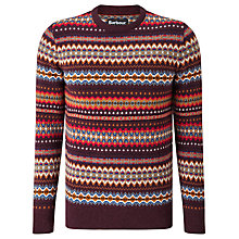 Buy Barbour New Martingale Fair Isle Crew Neck Jumper Online at johnlewis.com