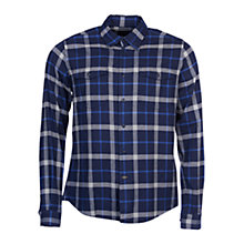 Buy Barbour Forestay Shirt, Navy Online at johnlewis.com