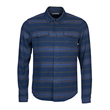 Buy Barbour Striped Deck Shirt, Navy Online at johnlewis.com