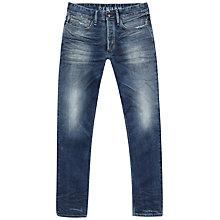 Buy Denham Drill Ava 1901 Jeans, Mid Blue Online at johnlewis.com