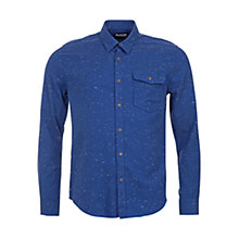 Buy Barbour Essential Frith Shirt, Navy Online at johnlewis.com