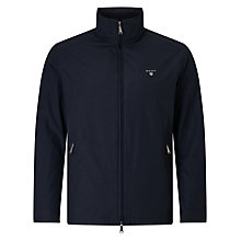 Buy Gant Mid Length Jacket, Navy Online at johnlewis.com