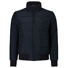 Buy Gant Quilted Loft Jacket, Navy Online at johnlewis.com