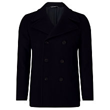 Buy Gant Riverside Peacoat, Navy Online at johnlewis.com