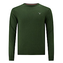 Buy Gant Cotton Wool Jumper Online at johnlewis.com