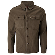 Buy Barbour Greatcoat Mariner Overshirt, Olive Online at johnlewis.com