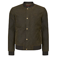 Buy Barbour Greatcoat Adder Jacket, Oban Olive Online at johnlewis.com